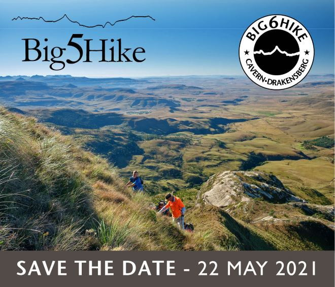 Big5Hike Save the Date 22 May 2021