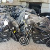 Motor Bikes ready for distribution