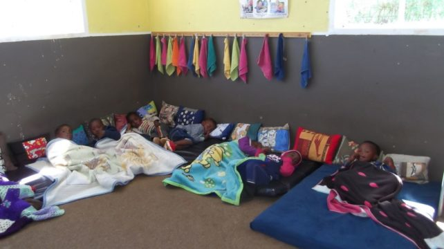 The Children love using the cushions for pillows at sleep time.