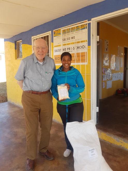 Terry at Sbusisiwe School