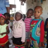 Children at a new school – Vukani